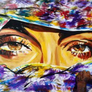 tray arts - custom art- canvas painting -14