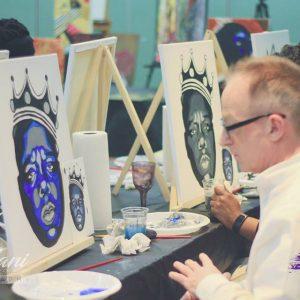 tray arts - custom painting - paint night -toronto-corperate-12